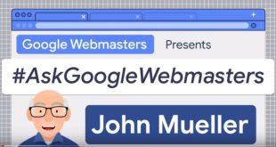 Ask google webmaster