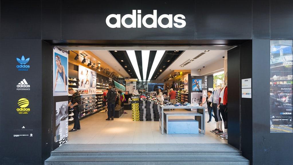 Adidas Singapore store