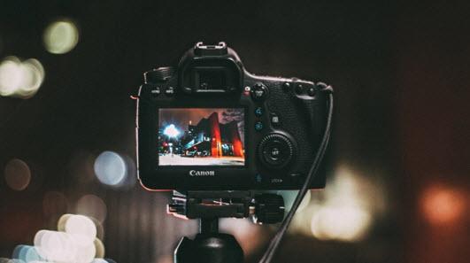 Canon DSLR bokeh shot