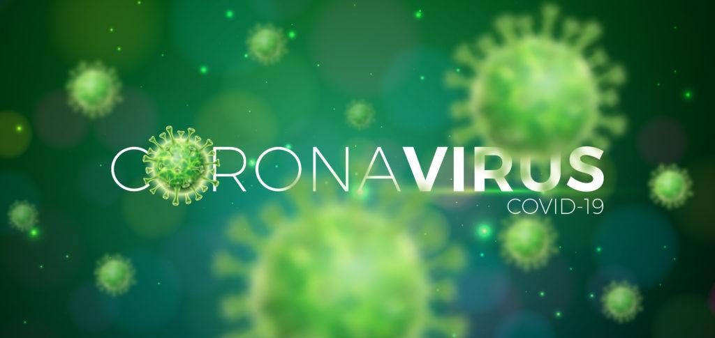 coronavirus macro shot