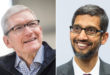 tim cook and sundar pichai