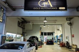 workshop car Singapore gold autoworks