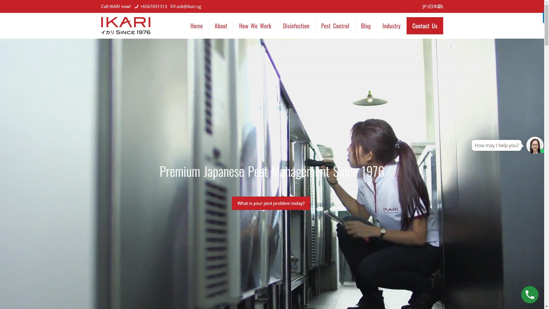 Ikari Services Pte Ltd pest control companies in Singapore
