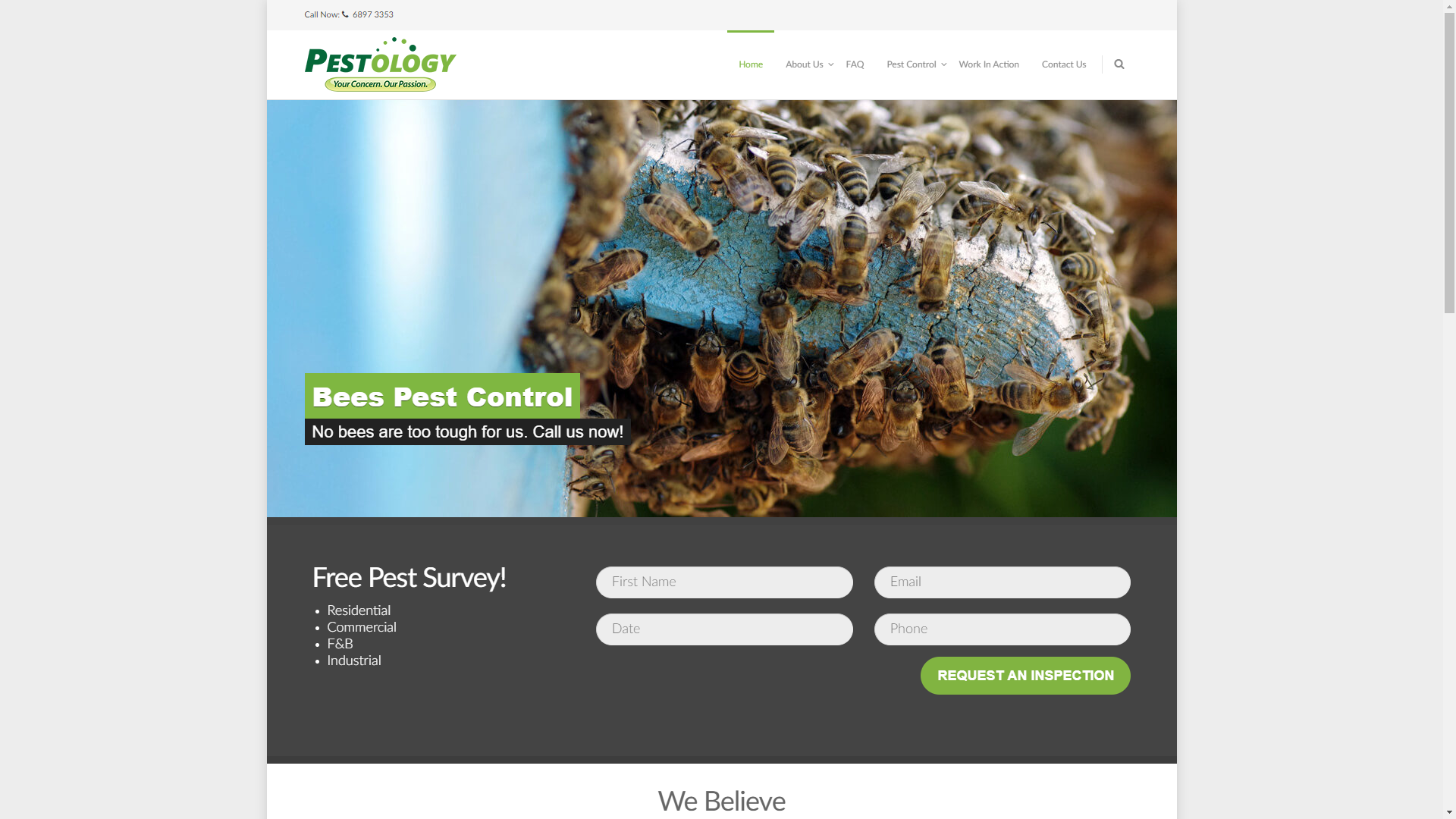 Pestology pest control companies in Singapore