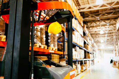 Forklift to increase efficiency and productivity
